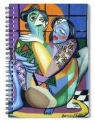 Kiss Me Spiral Notebook