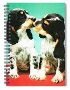 Kiss Me - Cocker Spaniel Art By Sharon Cummings Spiral Notebook