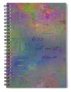 Kiss Of Mist Haiga Spiral Notebook