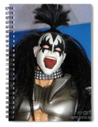 Kiss-the Coat Of Armor Spiral Notebook