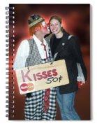 Kisses Spiral Notebook