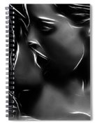 Kissing A Girl Spiral Notebook