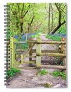 Kissing Gate Spiral Notebook