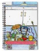Kitchen Caddy Spiral Notebook