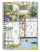Kitchen Catastrophe Spiral Notebook
