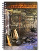 Kitchen - Colonial Pots And Pans Spiral Notebook