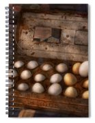 Kitchen - Food - Eggs - 18 Eggs  Spiral Notebook