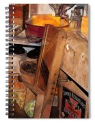 Kitchen - Food - Meat - Cheese - Eggs Spiral Notebook