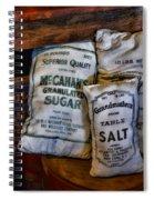 Kitchen - Food - Sugar And Salt Spiral Notebook