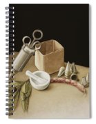 Kitchen Geometry Spiral Notebook