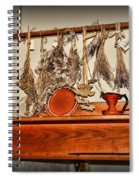 Kitchen - Herbs Drying Over The Mantel Spiral Notebook