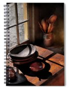 Kitchen - On A Table II  Spiral Notebook