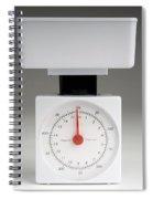 Kitchen Scales Spiral Notebook
