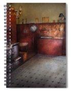 Kitchen - Storybook Cottage Kitchen Spiral Notebook