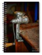 Kitchen - The Meat Grinder Spiral Notebook
