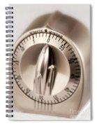 Kitchen Timer Spiral Notebook