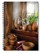 Kitchen - Try To Keep Busy  Spiral Notebook