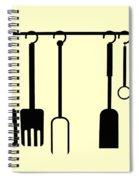 Kitchen Utensils Spiral Notebook
