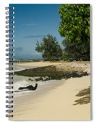Kite Beach Kanaha Beach Maui Hawaii Spiral Notebook