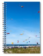 Kite Festial Spiral Notebook