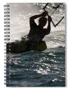 Kite Surfer 02 Spiral Notebook