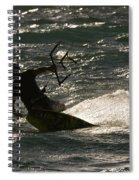 Kite Surfer 03 Spiral Notebook