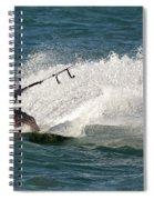 Kite Surfer 04 Spiral Notebook