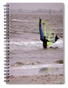 Kite Surfing Spiral Notebook
