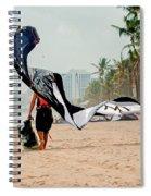 Kiteboard Gear Spiral Notebook