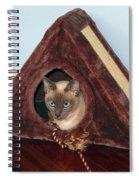 Kitty A-frame Spiral Notebook