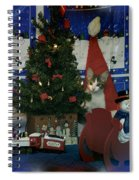 Kitty Says Merry Xmas Spiral Notebook