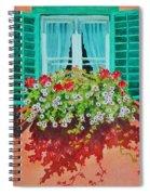 Kitzbuhel Window Spiral Notebook