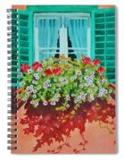 Kitzbuhel Window Spiral Notebook