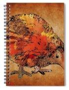 Kiwi Bird Spiral Notebook