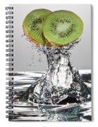 Kiwi Freshsplash Spiral Notebook