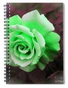 Kiwi Lime Rose Spiral Notebook