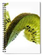 Kiwi With A Twist Spiral Notebook