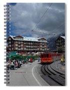 Kleine Schedegg Switzerland Spiral Notebook