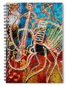 Klezmer Music Band Spiral Notebook