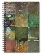 Klimt Landscapes Collage Spiral Notebook