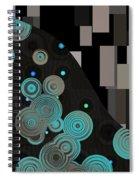 Klimtolli - 11 Spiral Notebook