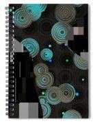 Klimtolli - 12 Spiral Notebook