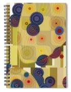 Klimtolli - 22 Spiral Notebook