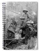 Klondike Gold Rush Miners  1897 Spiral Notebook