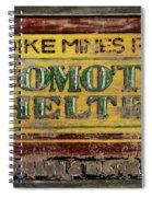 Klondike Mines Railway Spiral Notebook