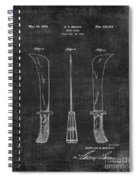 Knife Patent 1942 005 Spiral Notebook