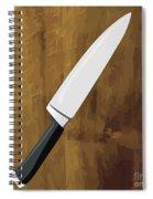 Knife Spiral Notebook