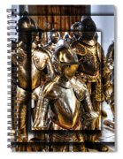 Knight And Friends Spiral Notebook