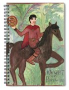 Knight Of Pentacles Spiral Notebook