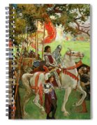 Knights Assembling, From Sir Nigel Spiral Notebook